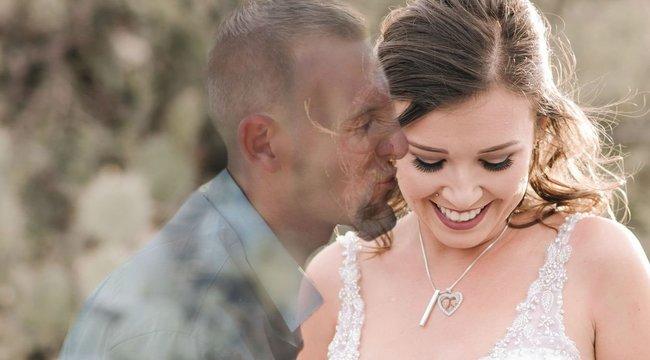 Szívbemarkoló képek készültek a gyászoló menyasszonyról, aki egyedül pózolt az esküvői fotózáson - fotó
