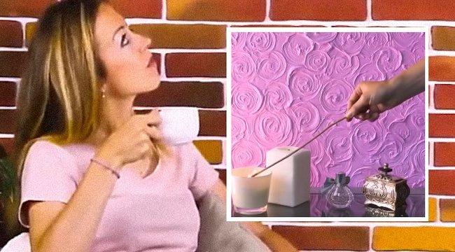 Így varázsoljon fillérekből szupertrendi falat a lakásába! videó