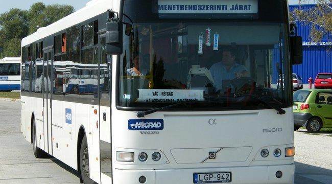 Helyi busz gázolt halálra egy gyalogost Nógrád megyében