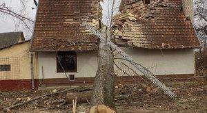 Kontár favágók miatt vált ketté a ház