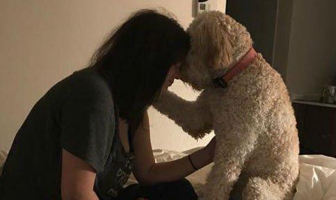 A kutyája jelez, mielőtt a súlyos beteg lányt elragadná a halál