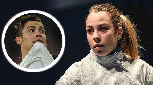 Kardozó létére Cristiano Ronaldo Liza példaképe