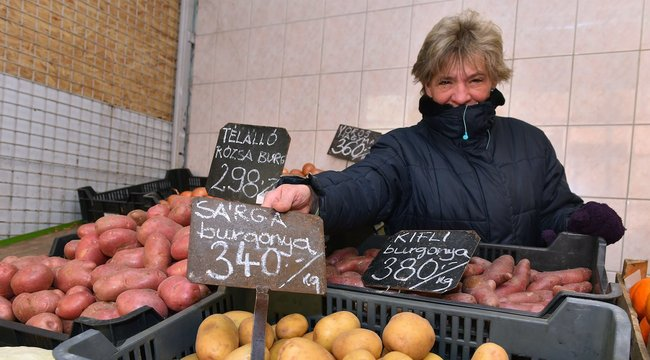 Kétszer annyiba kerül a krumpli, mint tavaly