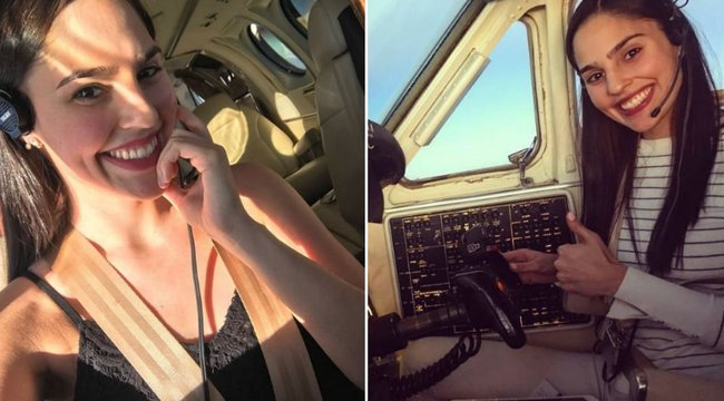 Ő lenne a világ legdögösebb pilótája? Könnyen lehet - szexi fotók
