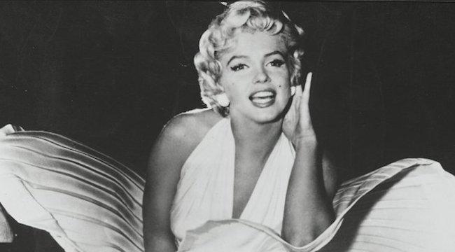 Marilyn Monroe fellibbenő szoknyája miatt vált el