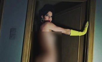 Teljesen pucéron pózol az Instán Kendall Jenner, gyorsan kattintson mielőtt eltüntetik a képet - 18+ fotó