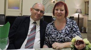 28 kilót fogyott Norbi menüjével Andrea,hogy megmentse a férje életét