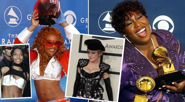 Azt hiszi, csak az idei Grammy volt bizarr? Brutális divatbakik a díjátadó múltjából