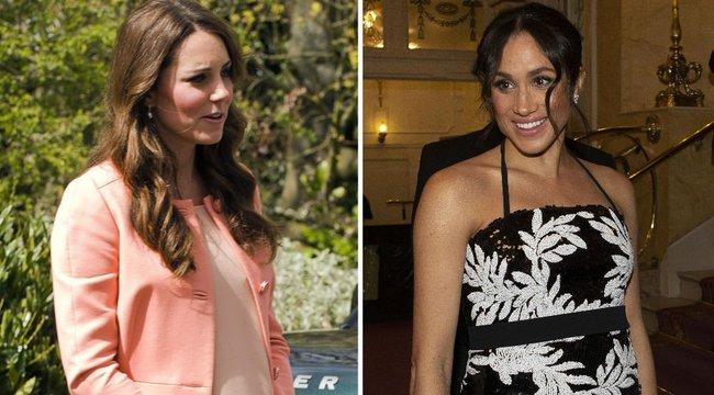 Ruháikkal versengenek a hercegnők - Katalin vagy Meghan Markle a stílusosabb?