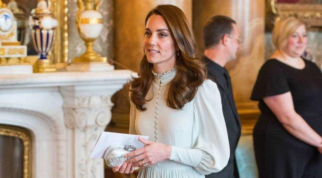 Katalin hercegnének külön bejáratú divattervezője van