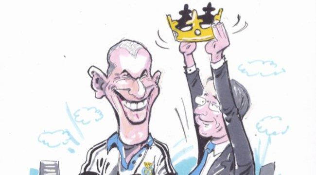 José Mourinho helyett lett Zinedine Zidane a befutó