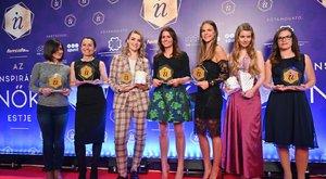 Inspiráló Nők Gálaest:Németh Franciska meghatódva vette át a Bors különdíját
