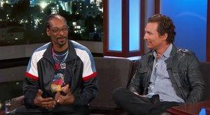 Snoop Dogg szerint Matthew McConaughey egyszer annyira betépett, hogy fél napig rappelt