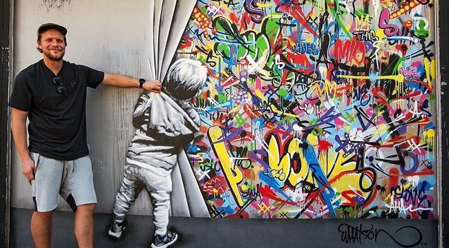 Még hogy egy falfirka nem lehet művészi - lélegzetelállító képek bizonyítják az ellenkezőjét