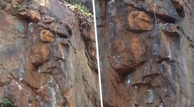 Virginia egyik szikláján találták meg Jézust– videó