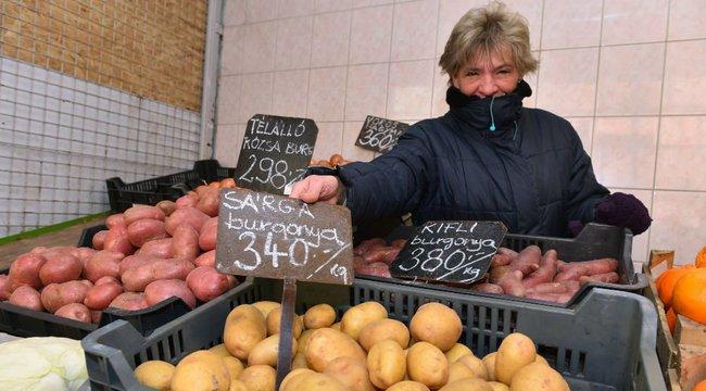 Szép, de drága az afrikai krumpli