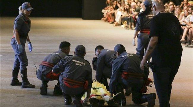 Váratlanul összeesett a kifutón, s meghalt egy 26 éves férfimodell a Sao Paulo-i divathéten