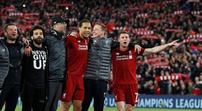 Megismételte a Liverpoolaz isztambuli csodát