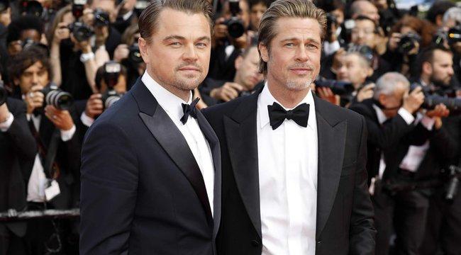Képtelenség dönteni! Leonardo DiCaprio vagy Brad Pitt sármosabb ezeken a képeken?