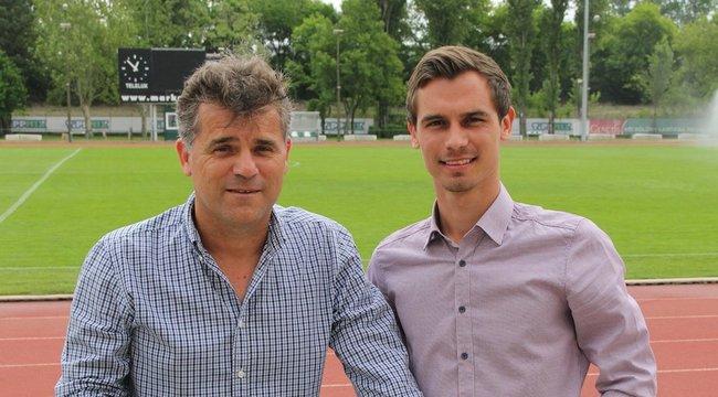 Máté Csaba szívesen lenne fia pályaedzője