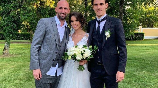 Esküvőjéről menta válogatottba Holman Dávid