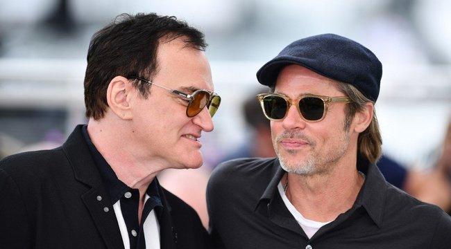 Quentin Tarantino nem gatyázott, akár Brad Pittet is kirúgta volna, ha megszegi ezt a szabályt