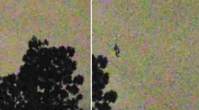 Rejtélyes, lebegő figurát videóztak - vajon mi lehetett az?