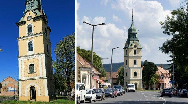 Városi legenda - Bomba miatt lett ferde a szécsényi Tűztorony