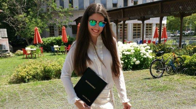 Megküzdött a diplomáért Agárdi Szilvi