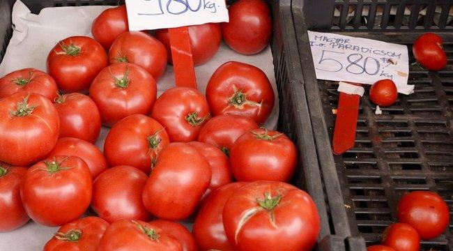 Hajmeresztő árak lecsószezonban: Ötven százalékkal drágult a paradicsom