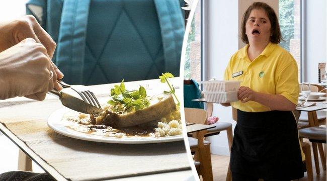 Megváltozott munkaképességűek készítették az ebédünket - riport