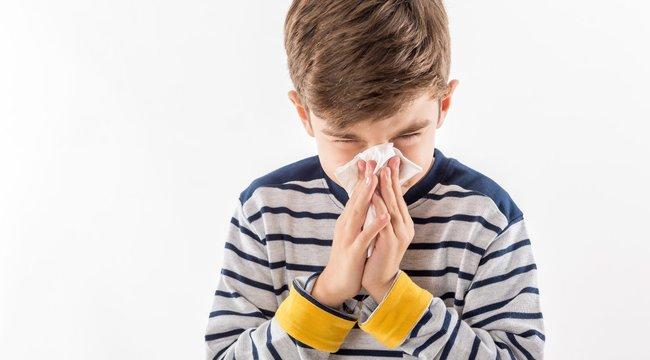 Az apróbb megfázások erősítik a gyerek immunrendszerét