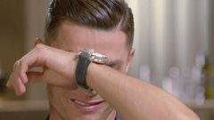 Zokogott a tévében Cristiano Ronaldo