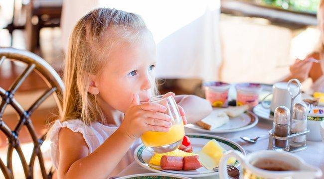 Ha rossz evő a gyerek, ne igya tele magát!