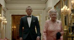 Öt perc alatt fogadta el a szerepajánlatot II. Erzsébet, hogy Bond-kisfilmet forgasson, de volt egy kikötése