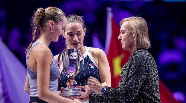 Tenisz-vb: Babos Timi a női páros királynője