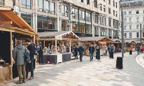 Megnyílt a karácsonyi vásár Budapesten