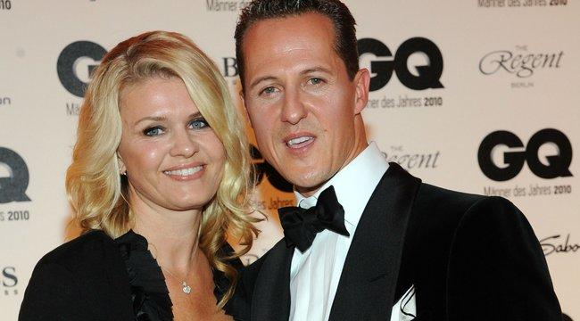 Schumacher felesége megtörte a csendet: családi titkokat árult el a legendás versenyzőről