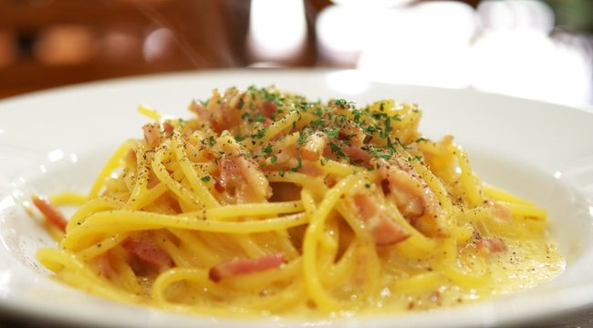 Mindmegette:Carbonara spagetti