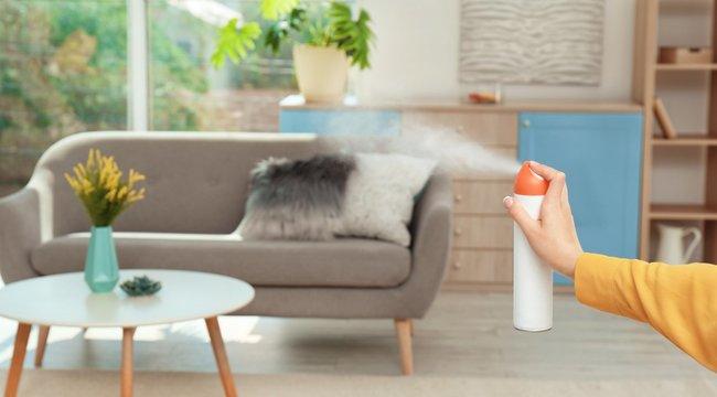Vigyázzon, foltot hagy a bútorain az olcsó légfrissítő!
