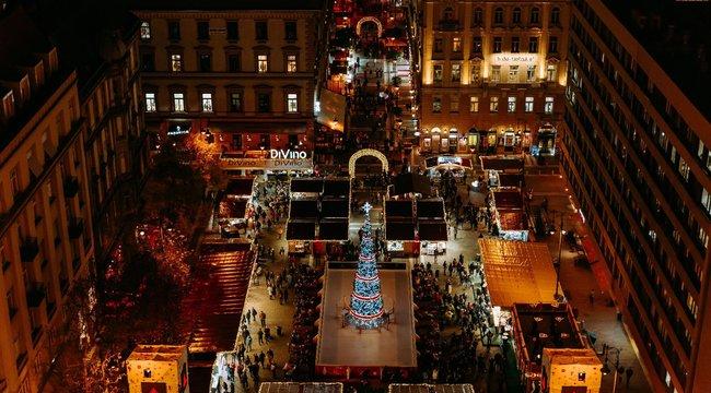 Budapesté lehet Európa legszebb karácsonyi vására!