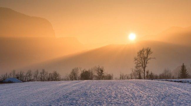 A havazás szerelmesei nem örülhetnek sokáig: ma még a nap is előbújik