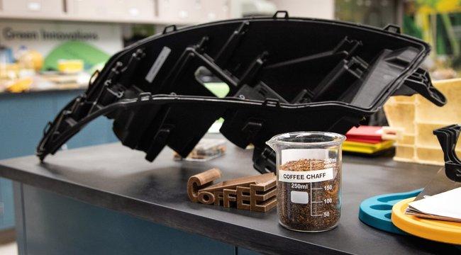 Kávéból gyárt alkatrészeket a Ford