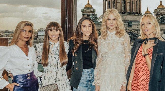 Édes kis hazugságokról beszélt Nicole Kidman a magyar bloggernek