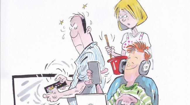 A Bors utánajárt:Unja a gyerek, ha a szülő az okostévéről kérdez