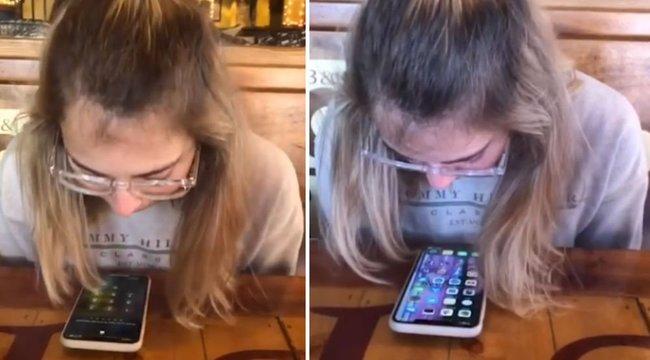 Garantáltan ez a világ leggusztustalanabb telefonos trükkje - 18+ videó