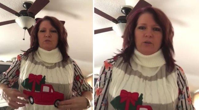 Idén garantáltan ez az asszony kapta a legkínosabb ajándékot - ráadásul a férjétől! videó