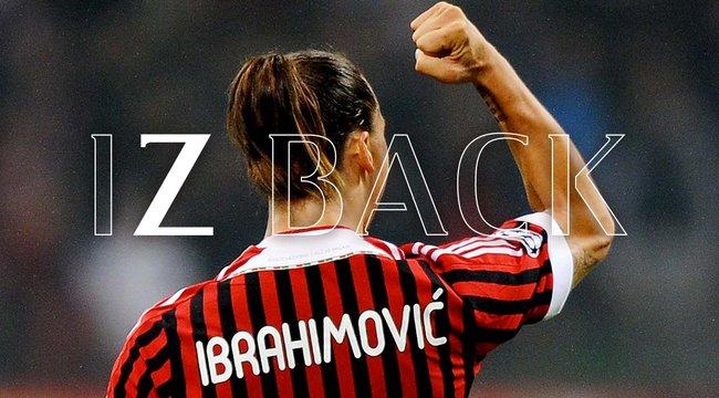 Hoppá! Ibrahimovicvisszatér a Milanhoz