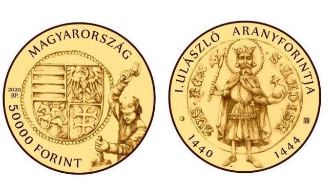 50 ezer forintos érmét ad ki aMagyar Nemzeti Bank - akár fizethet is vele, bár nem éri meg!
