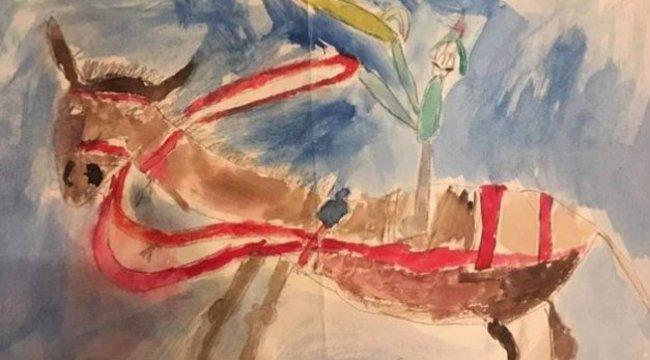 650 millióért árul árul egy férfi egy képet, amit hatévesen festett - és már érdeklődő is akadt rá